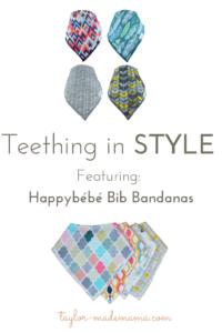 Teething In Style Bib Bandanas for baby