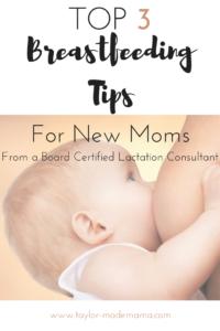 top-three-breastfeeding-tips