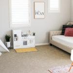 Modern, Family-Friendly Playroom Reveal